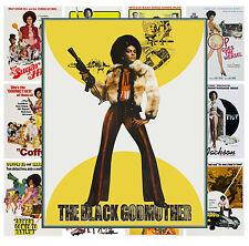 "Mini Posters [13 posters 8""x11""/A4] Blaxploitation Lady Movie Vintage MP465"
