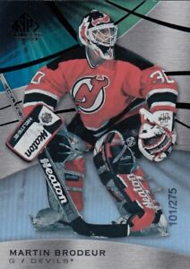 MARTIN BRODEUR NO:48 SP GAME USED RAINBOW 101/275 SP GAME USED RAINBOW 19-20 a
