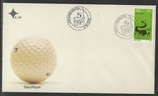 SOUTH AFRICA 1976 GARY PLAYER GOLF single FDC