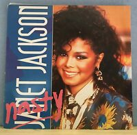 "JANET JACKSON Nasty 1986 UK 3-track 12"" Vinyl Single EXCELLENT CONDITION"