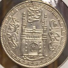 India - Hyderabad, AH1331 Silver Rupee High Grade- Please See Pictures