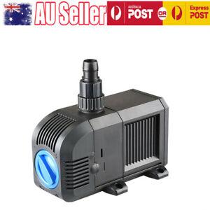 Sunsun Water Pump, 3000L/H Adjustable Submersible Filter Pump Marine Garden Fish