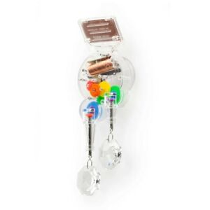 Kikkerland DOUBLE Solar Powered RainbowMaker With Crystal - Free Shipping