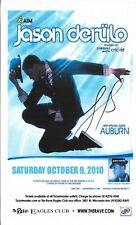 Jason Derulo Autographed Concert Poster