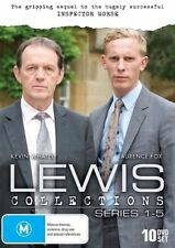 LEWIS - SERIES 1-5, THE COLLECTIONS (10 DVD SET) BRAND NEW!!! SEALED!!!