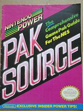 Nintendo Power Pak Source Insert Booklet Exclusive Insider Tips NES GamePak