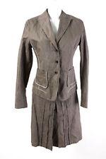 TAIFUN Kostüm Gr. 36-38 Blazer Rock Baumwolle Jacket Skirt Casual Suit