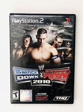 WWE SmackDown vs. Raw 2010 feat ECW (PS2, 2009) - CIB, Black Label, Very Good
