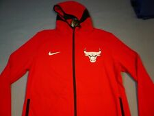Mens Nike NBA Chicago Bulls Dry Showtime 940866-657 Red Size XL