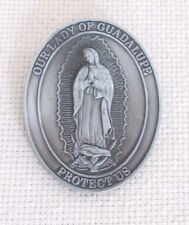 OUR LADY OF GUADALUPE AUTO Visor Clip NEW Mary Mexico Gift Money Clip?