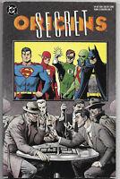 Secret Origins #1 1989 FN/VF TPB 1St. Print DC Comics Free Bag/Board