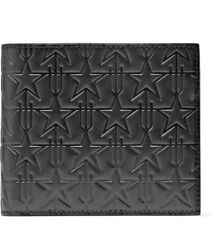 ab8cf8fa44 GIVENCHY STAR EMBOSSED LEATHER BILLFOLD WALLET MSRP$550 100% AUTHENTIC!