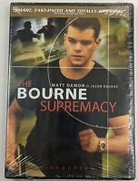 The Bourne Supremacy (DVD, 2004, Widescreen) Matt Damon NEW
