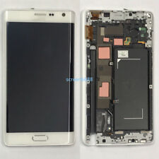 Für Samsung Galaxy Note 4 Edge N915F LCD Display Touch Screen+Rahmen Weiß+Tools