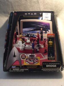 Star Trek Playmate U.S.S. Enterprise Bridge Play Set with Captain Kirk - in box