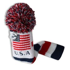 American Flag Knitted Fairway #3 Headcover  Head Cover For TaylorMade Callaway