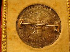 KARLSRUHE GERMANY MEDAL BADEN BEE - Original Case (PIN)