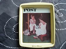 Norman Rockwell Saturday Evening Post Girl In Mirror