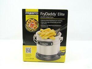 Presto FryDaddy Elite 05426 Deep Oil Fryer Electric 4 Cup 1lt. NEW SEALED