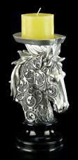 cheval chandelier avec ornements - Figurine décorative FANTASIE tête Chandelier