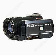 Ordro D395 HD 1080p Digital Video Camera 24mp Night Vision HDMI Wide Lens Tripod