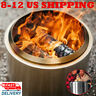 New Bonfire Portable Wood Stove Fire Pit For Camping Oven Outdoor Wood Burning