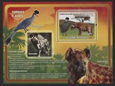 Guinea Bissau 2008 African Birds & Animals S/S set NH