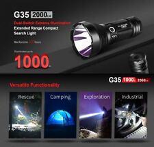 Klarus G35 Cree XHP35 HI D4 LED Taschenlampe Flashlight 2000 Lumen Strobe + SOS