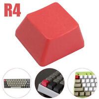 18x18mm PBT Red Blank Keycap ESC R4 Keycaps for Cherry MX Mechanical Keyboard