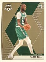 2019-20 Prizm Mosaic TACKO FALL Base RC #244, Boston Celtics, Premium Rookie