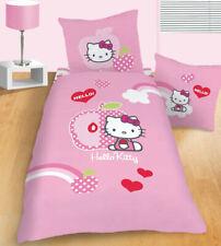 """Neues Angebot*NEU* Bettwäsche HELLO KITTY """"Apple Pink"""" 135 x 200 cm Sanrio"""