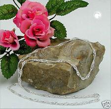Collier Singapur Diamantiert Silber 925 40cm