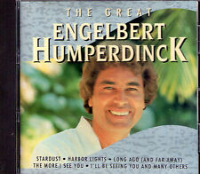 RARE CD 12T THE GREAT ENGELBERT HUMPERDINCK DE 1994 IMPORT PORTUGAIS