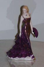 """Royal Worcester ~ Les Petites Figurine """" Abigail """" MINT"""