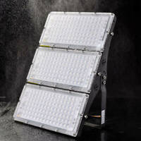 Modular LED Floodlight 100W 200W 300W Outdoor Security Light Cool/Warm IP65 US