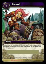 WOW World of Warcraft TCG LOOT CARD OWNED! The Flag of Ownership WOW TOY Owned!