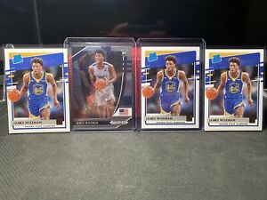 2020-21 JAMES WISEMAN DONRUSS RATED ROOKIE LOT OF 4 #226📈📈