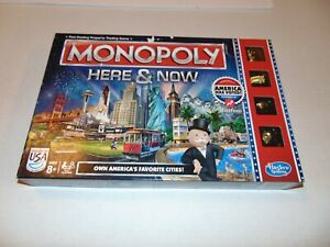 MONOPOLY Here and Now World Edition Board Game Limited Edition
