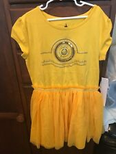 Star Wars C3PO Dress Disney Parks exclusive Girls L NWT - must see!