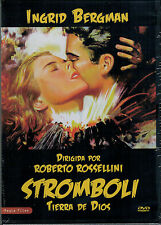 Stromboli  tierra de Dios  (DVD Nuevo)