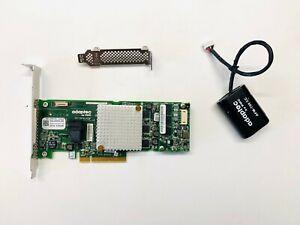Adaptec ASR-8405 12Gb/s RAID Controller Card + Flash Module  SuperCap Kit