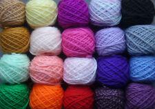 Acrylic Crafts Mixed Lot Crocheting & Knitting Yarns