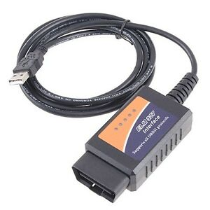 Ford Ranger OBD2 Car Code Reader ELM 327 USB Vehicle Fault Scanner OBD Tool