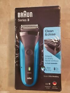 BRAUN SERIES 3 CLEAN & CLOSE ELECTRIC WET/DRY SHAVER  310S  BRAND NEW