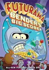 Futurama Bender's Big Score Limited Edition 3d Cover DVD Movie Aus Express
