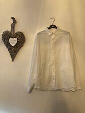 Armani Xchange White Suit Shirt smart office/work Regular