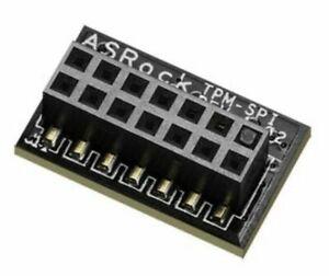 ASRock 14-1 Pin TPM-SPI Module Trusted Platform Module  - Brand New