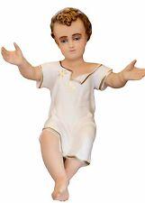 Statue Enfant Jésus résine cm 50 Yeux de Cristal