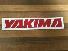 Yakima - Bicycle Cycling Sticker Decal - large