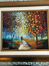 Slava Ilyayev - Deeper Meaning - beautiful ORIGINAL oil painting FRAMED